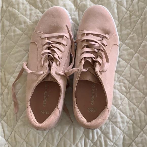 Pink Suede Sneakers | Poshmark